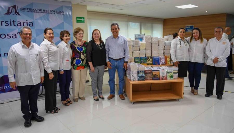 35° Aniversario de la Biblioteca Central Carlos Maciel Espinosa