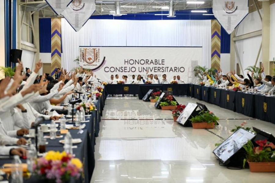 1a. Sesión Extraordinaria de Consejo Universitario