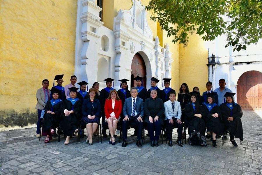 Graduación de alumnos de la Licenciatura en Enseñanza de la Lengua Inglesa