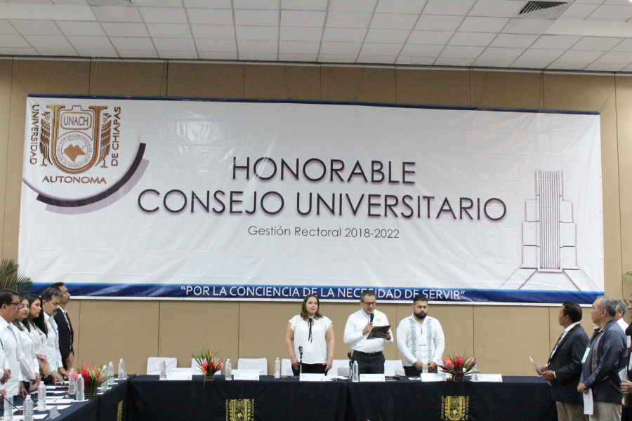 Honorable Consejo Universitario, Diciembre 2019